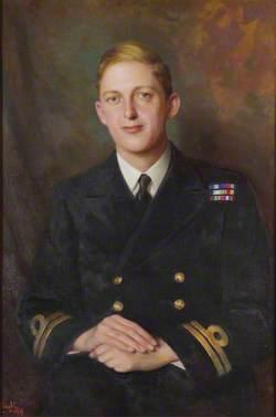 Lieutenant-Commander Thomas Hornyold-Strickland (1921–1983), 7th Count della Catena