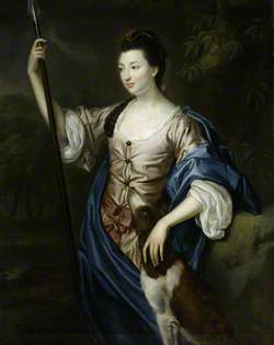 Lady Margaret Butler/Lowry-Corry (1748–1775), as Diana