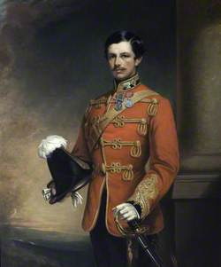 Sir William Ramsay-Fairfax (1831–1902), 2nd Bt, of Maxton, as a Colonel in the Crimean War