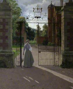 The Honourable Alice Caroline Helen Buchan (1908–1993), Lady Fairfax-Lucy, at Charlecote