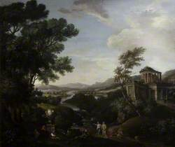A Classical Landscape with Figures