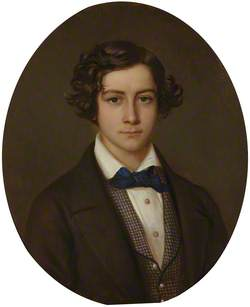 Sir Herbert George Denman Croft (1838–1902), 9th Bt, as a boy