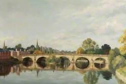 The English Bridge, Shrewsbury