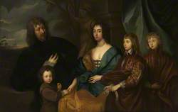 Sir Endymion Porter with His Wife and Three Sons