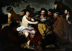 'Los Borrachos' ('The Drunkards'): Bacchus with a Group of Peasants