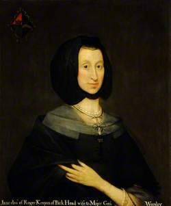 Dorothy Kenyon (1622/1623–before 1683), Mrs Charles Worsley