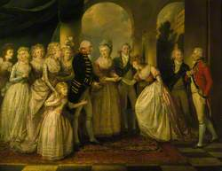 Frederica, Princess Royal of Prussia, Shortly to be Duchess of York, Presented to George III