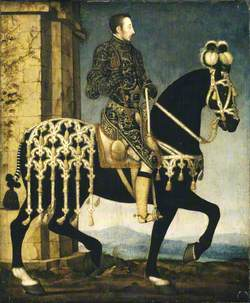 Henri II of France (1519–1559), on Horseback