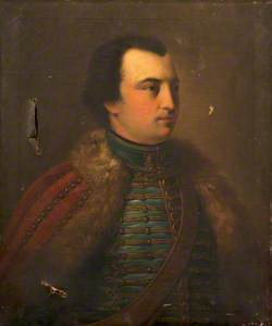 Portrait of an Unknown Man in Hussar's Uniform