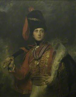 Charles William Stewart (Later Vane) (1778–1854), Baron Stewart, Later 3rd Marquess of Londonderry, in Hussar Uniform