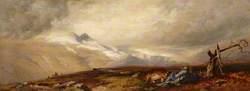 The Snowy Corries of Ben y Bourd, Braemar, 20 September 1856