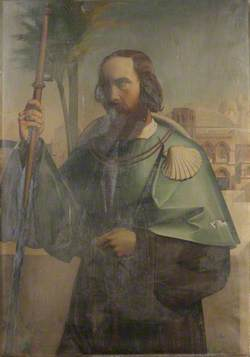 Francis Whitgreave (1819–1896) (?) as a Pilgrim in Jerusalem