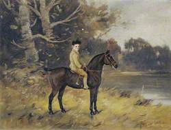 Frederick Fermor-Hesketh (1883–1910), as a Young Boy on His Pony