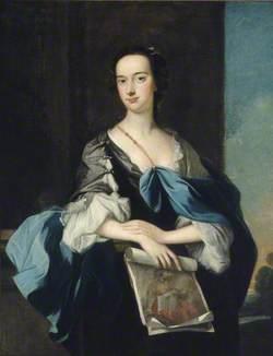Lady Elizabeth Yorke (1725–1760), Lady Anson, Holding a Drawing of Dante by Carlo Dolci