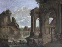 Capriccio: Roman Ruins at Bologna