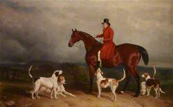 James 'The Young Commodore' Watson (1767–1850), on a Hunter, with Hounds