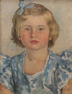 Anthea Loveday Veronica Mander (1945–2004), Mrs Lahr, as a Child