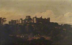 View of Windsor Castle from the South