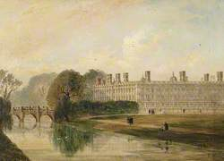 Clare College, Cambridge, Seen from King's Bridge