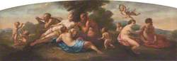 Classical Figures in a Pastoral Setting
