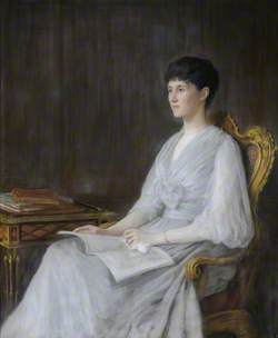 Lady Victoria Alexandrina Elizabeth Grey (d.1922), Lady Dawnay