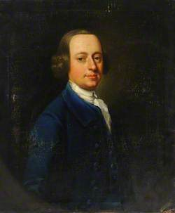 Portrait of a Man in a Blue Coat