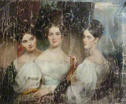 The Misses Macdonald (Caroline Sophia Macdonald, d.1887, the Honourable Mrs Charles Cust; Emma Hamilla Macdonald, d.1852, Mrs Wodehouse; Louisa Emily Macdonald, d.1897, Mrs Fitzroy)