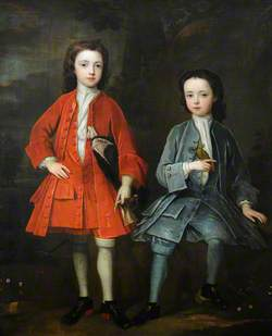 Henry Harpur (1708–1748), Later Sir Henry Harpur, 5th Bt, and His Brother John Harpur (d.1780)