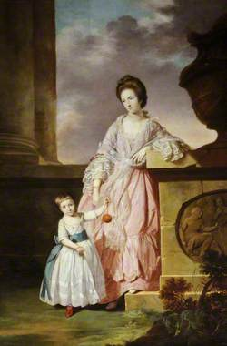 Lady Frances Greville (1744–1825), Lady Harpur, and Her Son Henry Harpur (1763–1819), Later Sir Henry Harpur Crewe, 7th Bt