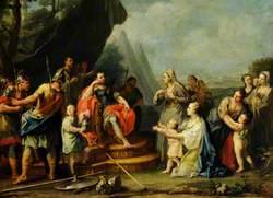 Coriolanus Entreated by His Womenfolk