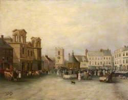 Morpeth Market Place, 1897