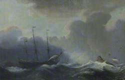Three Ships in a Squall