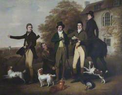 A Shooting Party of Captain William Lukin (1768–1833), and His Brothers at Felbrigg Parsonage