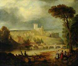 Richmond Castle from the River