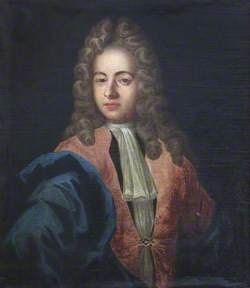 Portrait of an Unknown Young Man in Pink and Blue