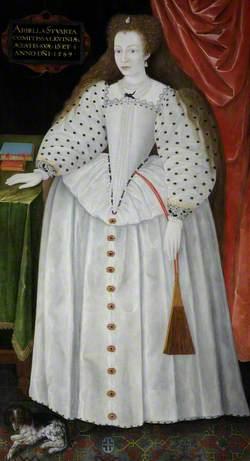 Lady Arabella Stuart (1575–1615), Later Duchess of Somerset, Aged 13 1/2