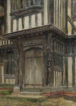 Entrance Porch of Lavenham Guildhall