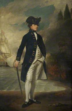 Captain, Later Admiral, Sir Hyde Parker (1739–1807)