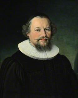 Portrait of an Unknown Bearded Man in a Cartwheel Ruff
