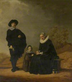 Family in a Landscape