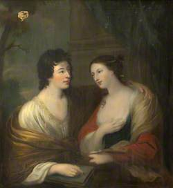Rhoda Delaval (1725–1757), Later Lady Astley, and Her Brother, Sir Francis Blake Delaval (1727–1771), as 'Painting and Poetry'