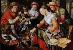 A Dutch Kitchen Scene