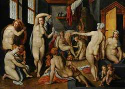 A Tepidarium with Female Nudes