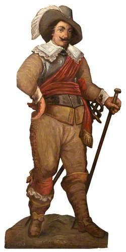 Fanciful Figure of a Dutch Gallant