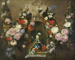 Joseph II (1741–1790), Future King of Hungary and Holy Roman Emperor, as a Child in a Floral Setting