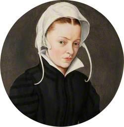 Portrait of a Woman in a White Bonnet