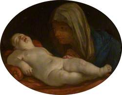 The Virgin Adoring the Infant Christ