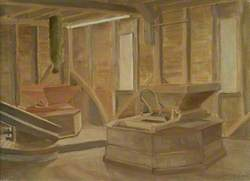 Interior View, Park Mill, Bateman's: Hoppers