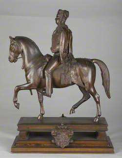 George V (1819–1878) of Hanover on Horseback