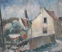 Village Scene in France